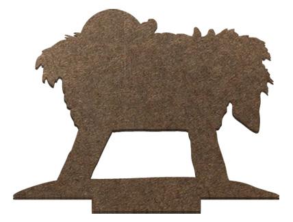 Standing Surface Figure - Manger