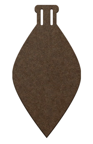 Wood Ornament - Tapered