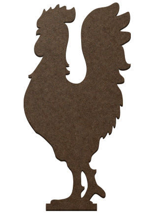 Standing Surface Figure - Rooster