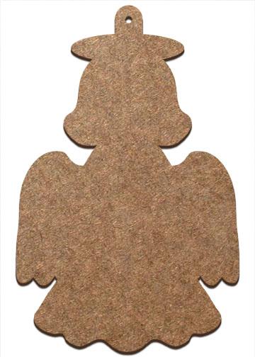 Wood Ornament - Angel