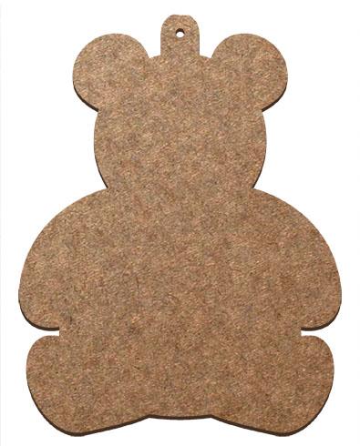 Wood Ornament - Teddy Bear