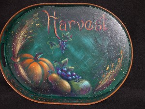 Harvest Tray - E-packet - Patricia Rawlinson