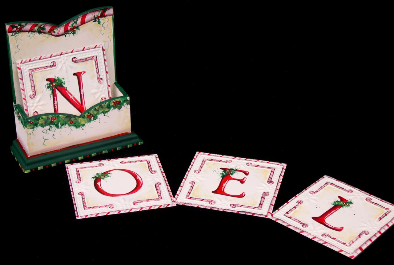 Noel Coaster Set E-packet - Patricia Rawlinson