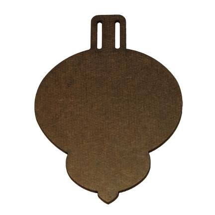 Wood Ornament - Classic - Small