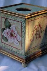 Magnolia Tissue Box - E-Packet - Patricia Rawlinson