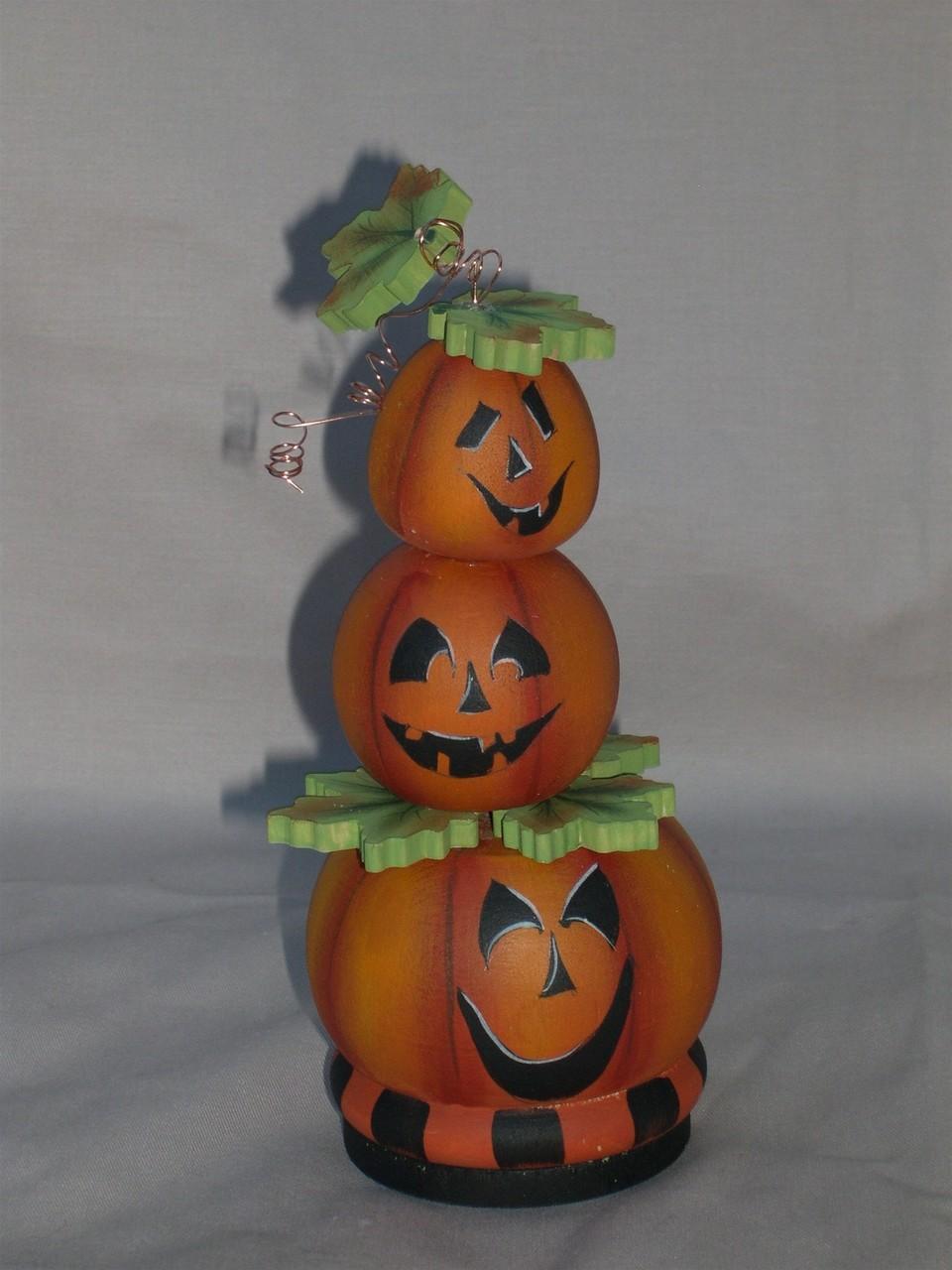 3 Pumpkin Heads E-packet - Patricia Rawlinson