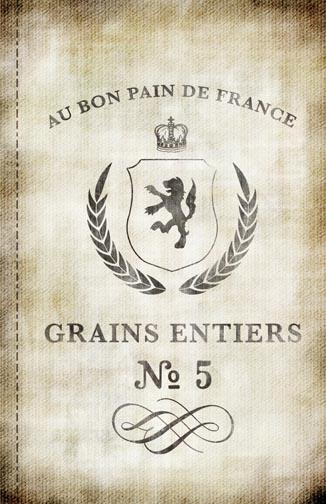 "Burlap-French Grain Collage Paper - 10 1/2"" X 16"""