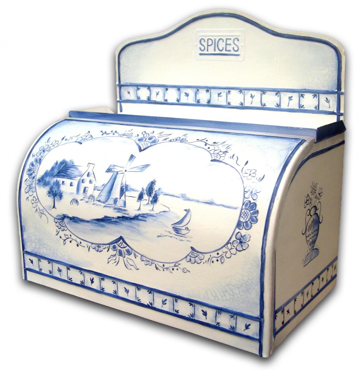 Blue Delft Tin E-Packet - Patricia Rawlinson