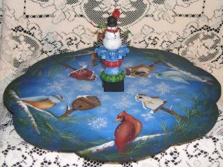 Sno Birds Lazy Susan E-packet - Patricia Rawlinson