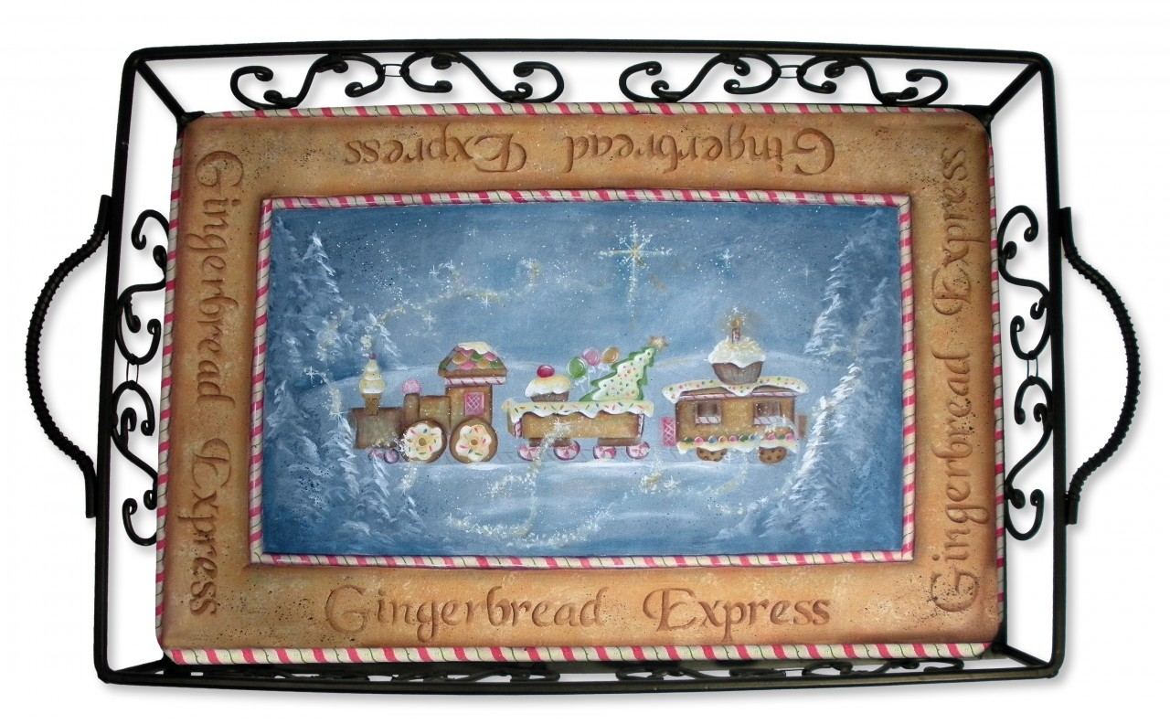 Gingerbread Express E-Packet - Patricia Rawlinson