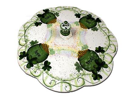 St. Patricks Day Lazy Susan E-Packet - Patricia Rawlinson