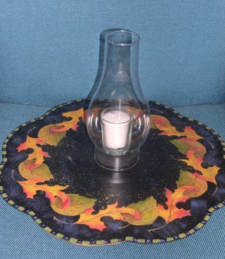 Fall Leaves Lazy Susan - E-Packet - Patricia Rawlinson