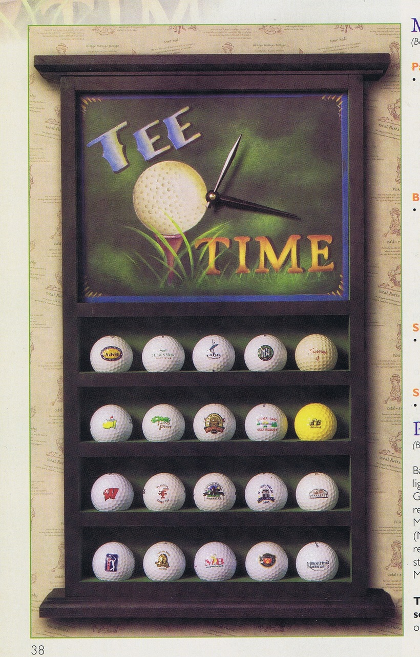 Tee Time E-Packet - Patricia Rawlinson