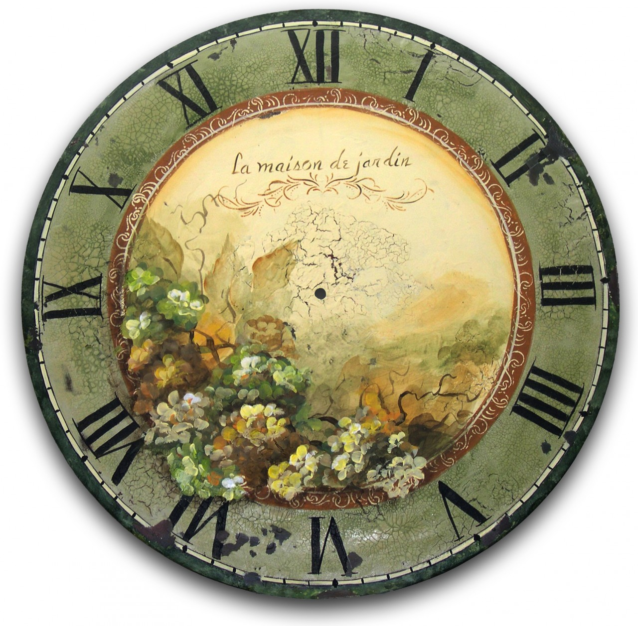 A Garden House Clock - E-Packet - Patricia Rawlinson