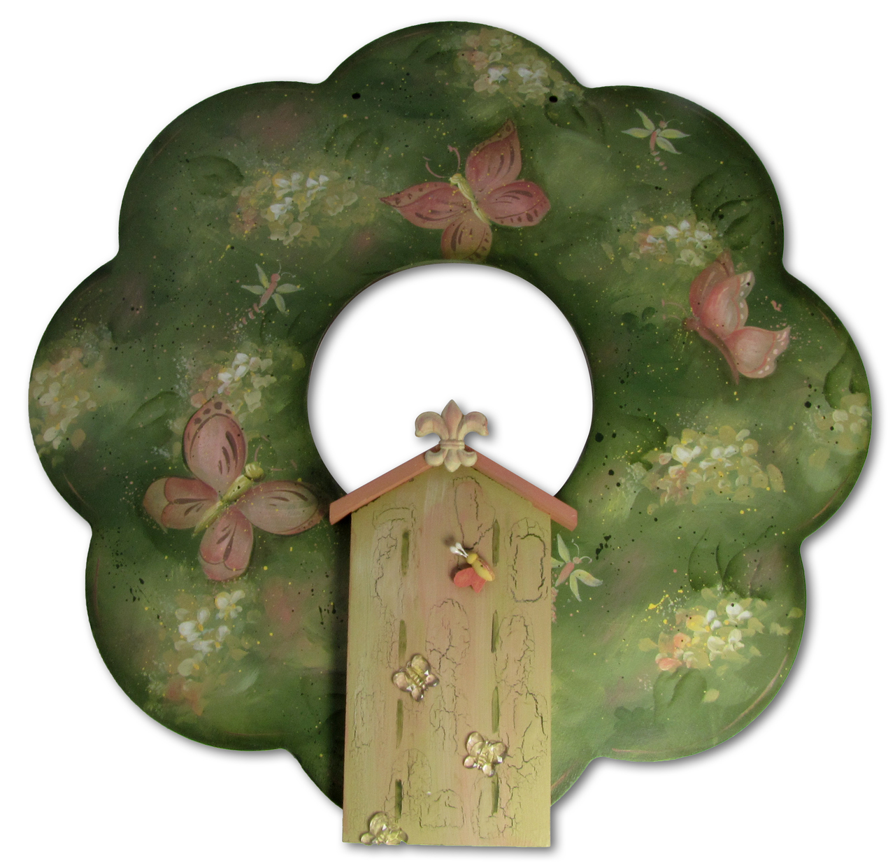 Spring Wreath - E-Packet - Patricia Rawlinson