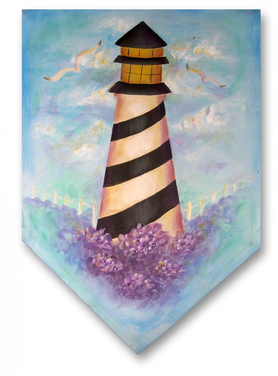 Lighthouse and Hydrangeas E-Packet - Patricia Rawlinson