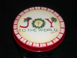 Joy to the World Candy Jar Topper E-packet - Patricia Rawlinson