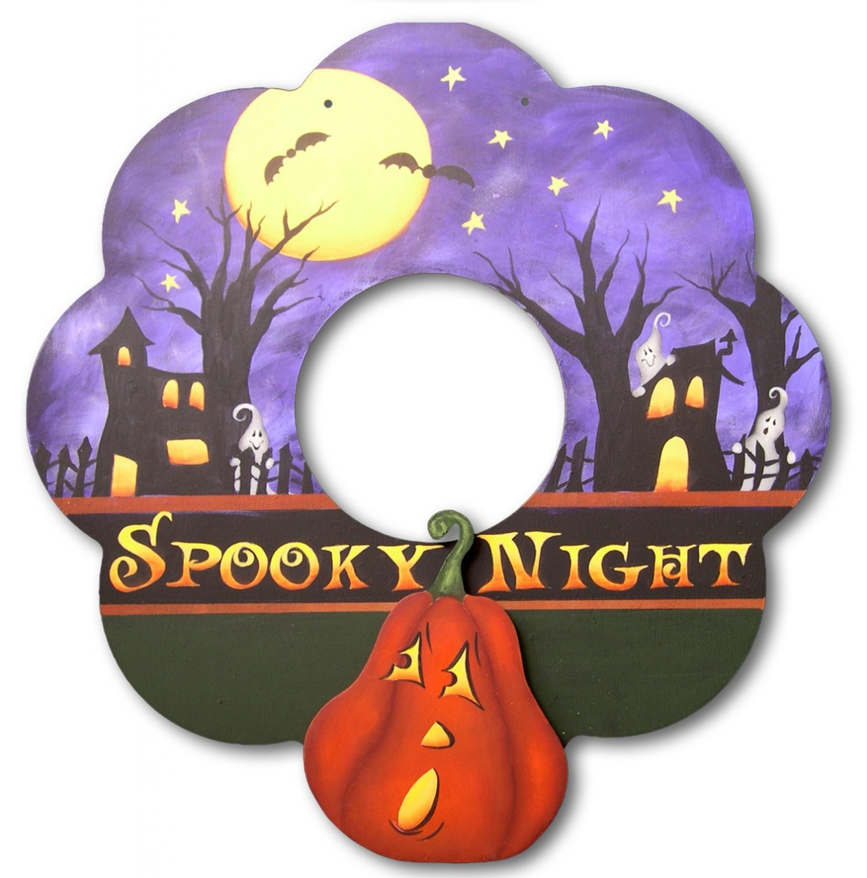 Spooky Wreath - E-Packet - Patricia Rawlinson