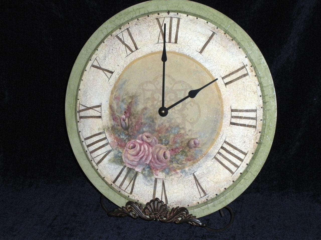 Elegant Rose Clock E-Packet - Patricia Rawlinson