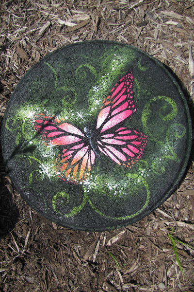 Pink Butterfly Magic Stepping Stone E-Packet - Patricia Rawlinson
