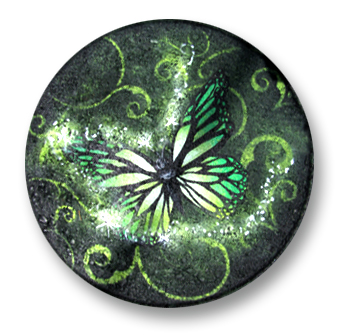 Green Butterfly Magic Stepping Stone E-Packet - Patricia Rawlinson