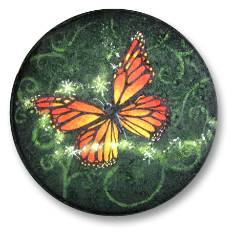 Orange Butterfly Magic Stepping Stone E-Packet - Patricia Rawlinson