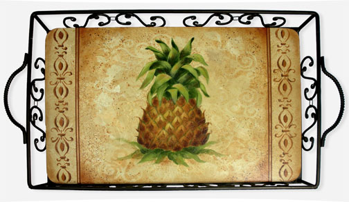 Textured Pineapple Tray E-Packet - Patricia Rawlinson