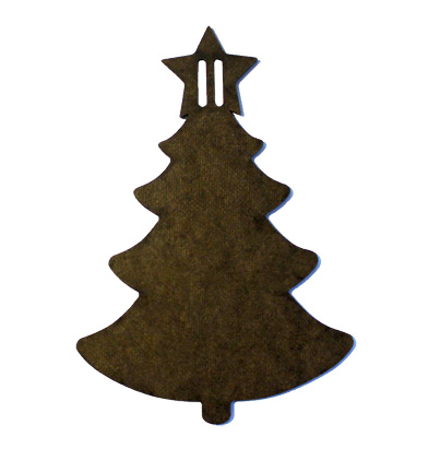 Wood Ornament - Christmas Tree