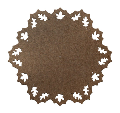Fall Leaves Lazy Susan Panel