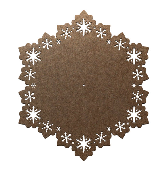 Frosty Flakes Lazy Susan Panel