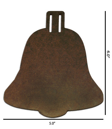 Wood Ornament - Bell