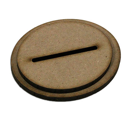 Standing Surface Base - Oval Single