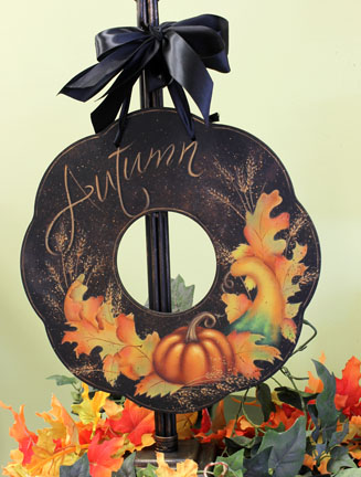Autumn Wreath - E-Packet - Patricia Rawlinson