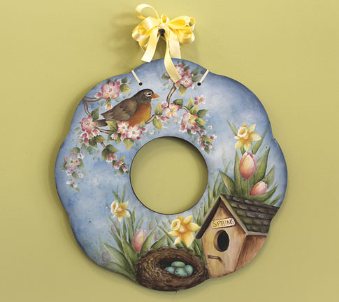Signs of Spring Wreath - E-Packet - Patricia Rawlinson
