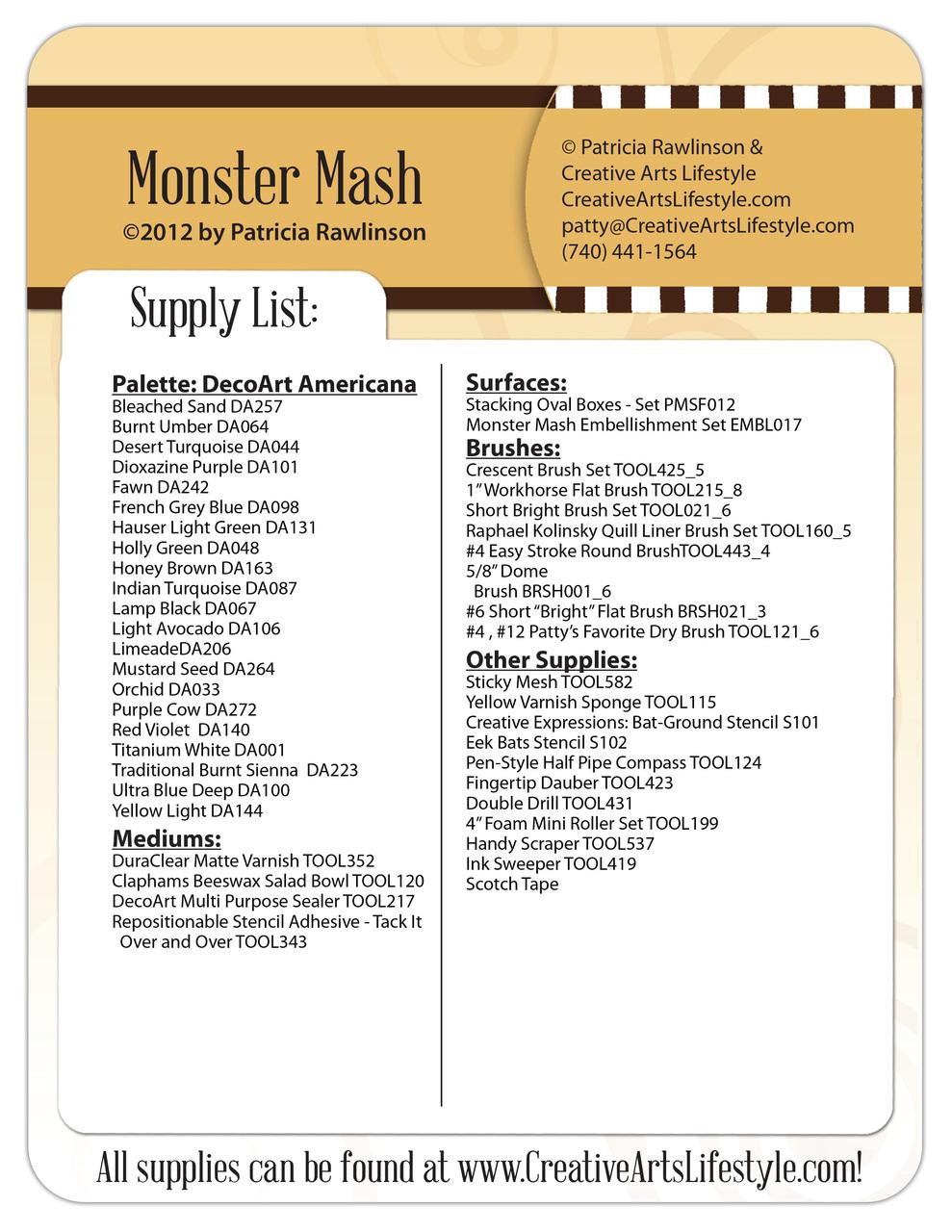 Monster Mash E-Packet - Patricia Rawlinson