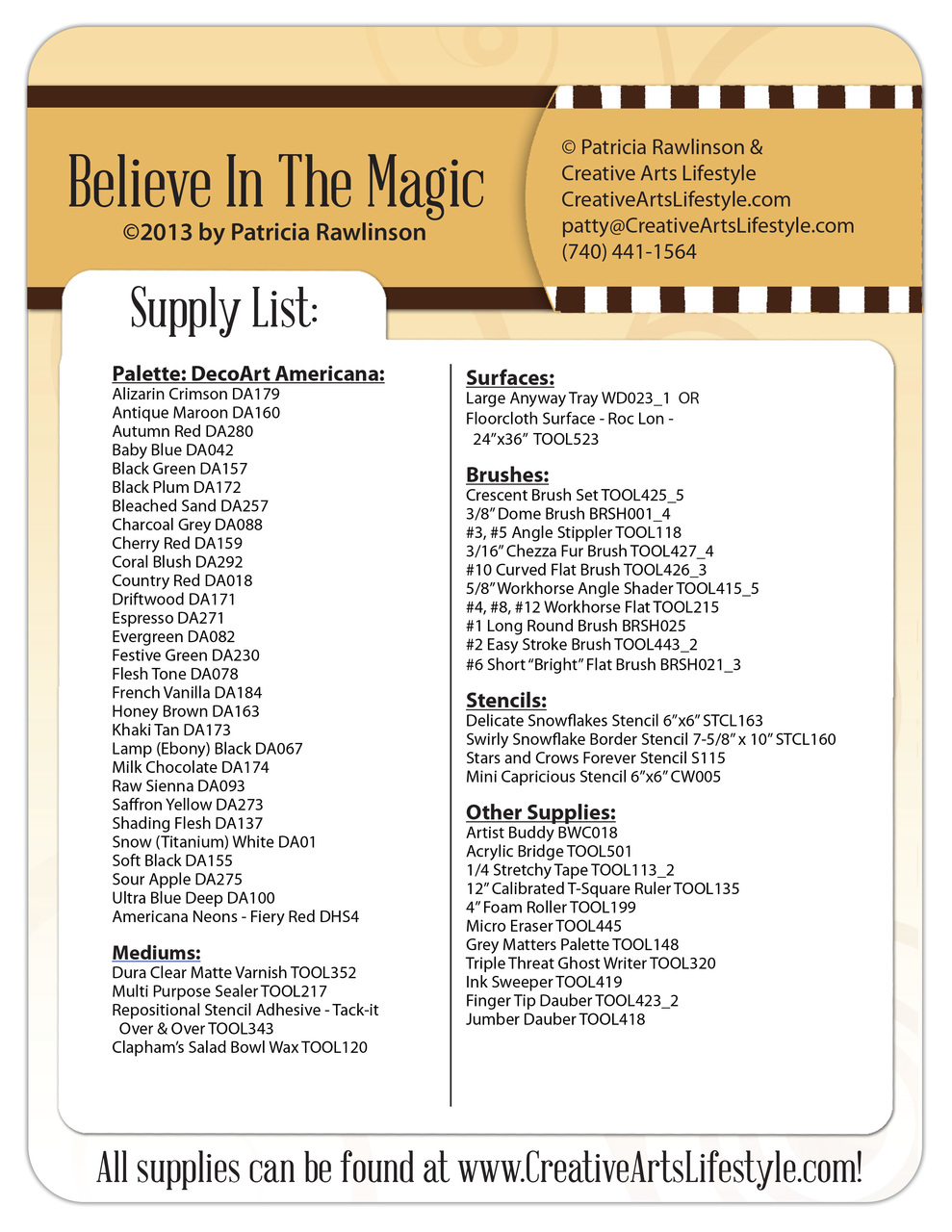 Believe In the Magic E-Packet - Patricia Rawlinson