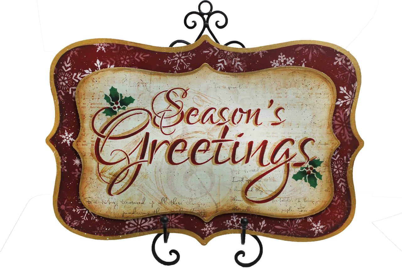 Seasons Greetings Welcome Sign E-Packet - Patricia Rawlinson