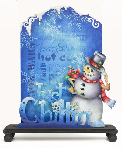 Just Chillin' Chalkboard Set E-Packet - Patricia Rawlinson
