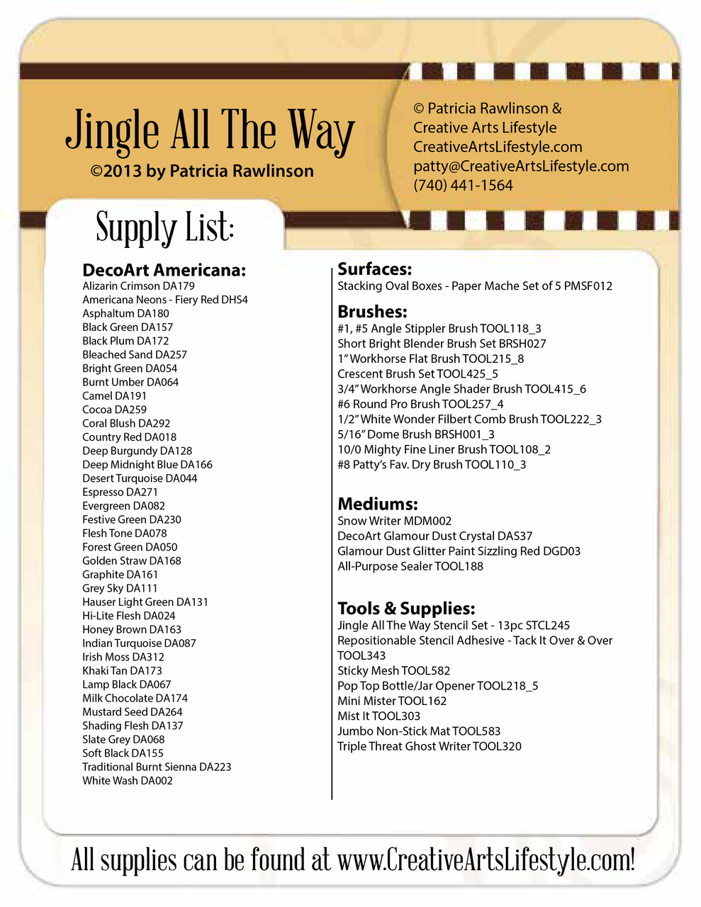 Jingle All the Way E-Packet - Patricia Rawlinson