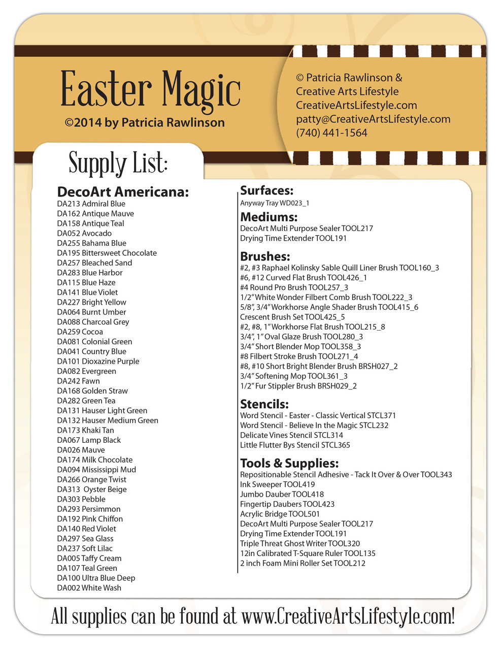 Easter Magic - E-Packet - Patricia Rawlinson