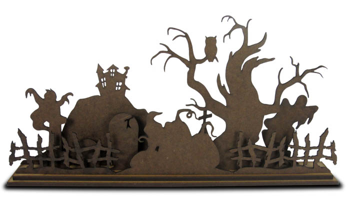 Standing Surface Set - Haunted Hollow Centerpiece
