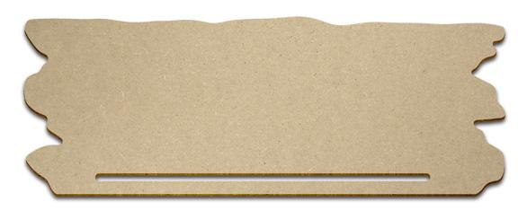 Rustic Board Banner Topper