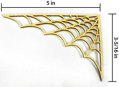 Spider Web Corner - Medium