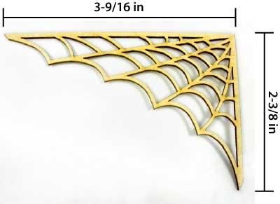 Spider Web Corner - Small