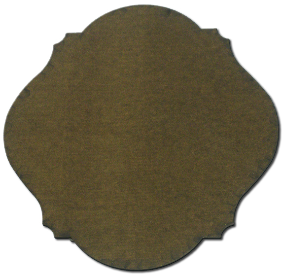 "Scalloped Plaque - 17 1/4"" x 15 1/4"""