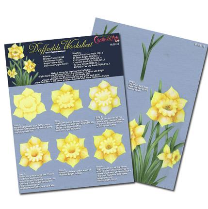 Daffodils Worksheet