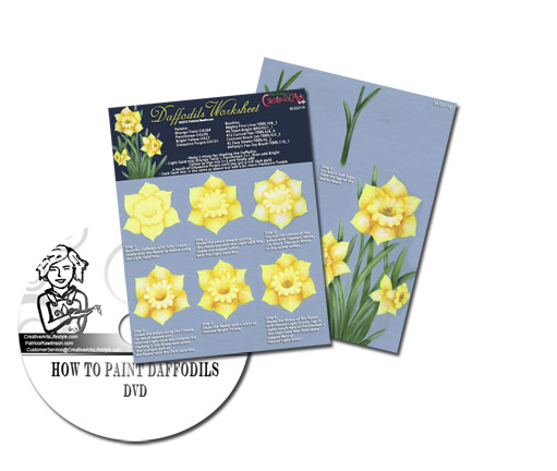 Daffodils Worksheet & DVD Set