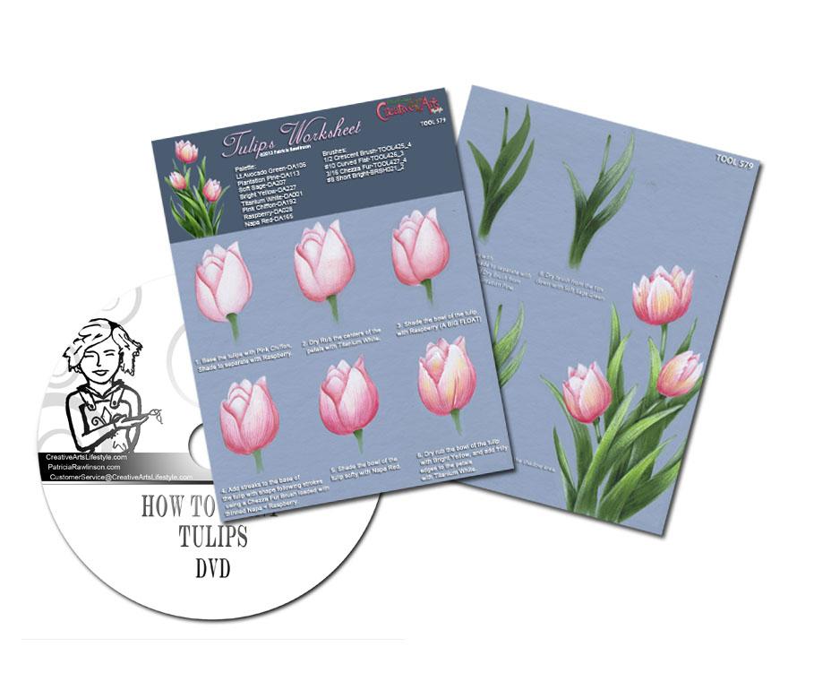 Tulips Worksheet & DVD Set