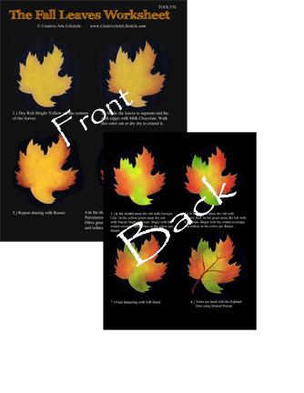 Fall Leaves Worksheet
