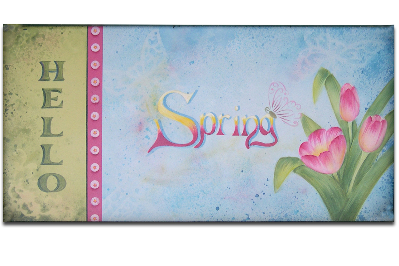 Hello Spring! DVD & Pattern Packet - Patricia Rawlinson